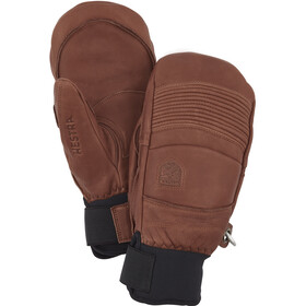 Hestra Leather Fall Line Mittens, brown